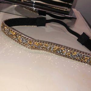 Bedazzled head bandanna